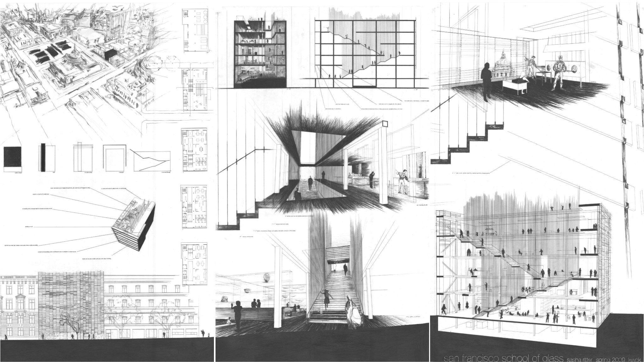 Architecture sasha ritter for How to draw architectural plans by hand